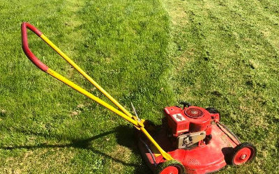 Mindfullness och gräsklippning