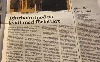 Författarkväll i Bjurholm